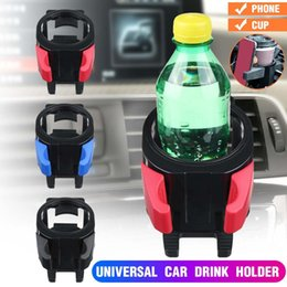 holder auto Australia - Auto Supplies Car Cup Drink Holder Air Vent Outlet Water Bottle Phone Stand Black Drink Holder Car Styling mobil e phone bracket