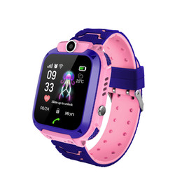 Smart Watch For Kids Gps Australia - Kaze Kids Smartwatch GPS Tracker SOS Call Smart Watch for Children Phone