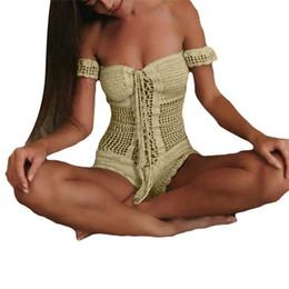 bd19d9f302584 Fishnet jumpsuit online shopping - Women Sexy Crochet Beach Fishnet Sarong  Handmade Knitting Jumpsuit Hand hook