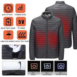 $enCountryForm.capitalKeyWord Australia - Men Light USB Fast Heating Jacket Winter Electric Waterproof Temperature controllable Jackets Hiking Camping Trekking Climb Coat