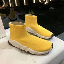 Venta al por mayor de Zapatos de calcetines de lujo Calzado informal Zapatillas de deporte de alta calidad Zapatillas de deporte de alta calidad Zapatillas de carreras de calcetines Zapatos negros para hombres y mujeres Luxur