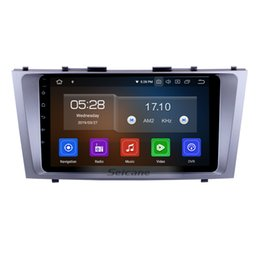 $enCountryForm.capitalKeyWord UK - 9 Inch Android 9.0 Touchscreen Car Multimedia Player for 2007-2011 Toyota CAMRY with Bluetooth WIFI GPS Navi support car dvd DVR Rear camera