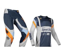Breathable Motocross Gear Australia - 2019 Naughty Fox MX 360 Murc Green Jersey Pants Motocross Dirt bike Off Road Racing Mens Gear Set
