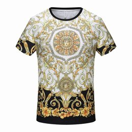 efc311fc 19SS Summer Edition Mens Designer T Shirts Cotton Tee New The New Summer  Cool Clothes Large Size Black Cotton Size M-xxxl