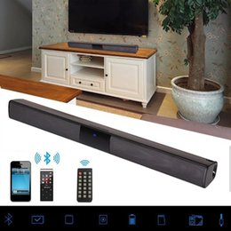 $enCountryForm.capitalKeyWord Australia - 20W Wireless Bluetooth Soundbar Stereo Speakers Hifi Home Theater TV Sound Bar Surround Sound System AUX TF FM Radio Column