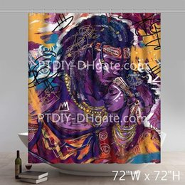 Twins arT online shopping - Liberty African Black Twin Flame Black Women Chiamaka God Is Gorgeous and Lock and Key X Change by Kevin Williams WAK Art Shower Curtains