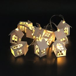$enCountryForm.capitalKeyWord NZ - Led House Lamp String Goods In Stock European Copper Wire Lamp Wood House You Christmas Coloured Lights Room Arrangement Decoration Lamp