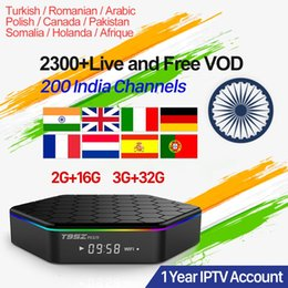Android Tv Box Portugal Australia - India IPTV Box T95Z Plus Android 7.1 Smart TV Box Indian Pakistan Turkey Arabic Iptv Subscription UK Germany Portugal Italy IPTV