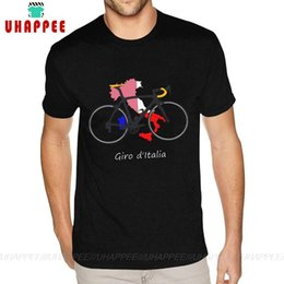 Nice Cycle Itália Mapa camiseta T-shirt 6XL Preto T-shirt de Male