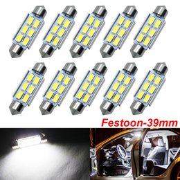 auto map lights Australia - C5W C10W Festoon 39mm LED Bulbs CANBUS 5630 SMD White For Car Auto Interior Dome Map Reading Lamp License Plate Lights DC 12V