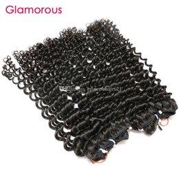 $enCountryForm.capitalKeyWord UK - Glamorous Cambodian Virgin Hair 2 Bundles Raw Unprocessed Human Hair Weave Natural Color Brazilian Malaysian Indian Tight Curly Hair Weaves