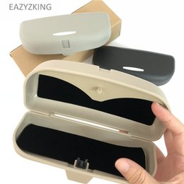 grand cherokee 2019 - EAZYZKING Car Sunglasses Holder Glasses Case For Grand Cherokee Compass Commander Wrangler Rubicon SAHALA Patriot cheap
