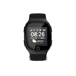$enCountryForm.capitalKeyWord Australia - D100 Elderly Smart Watch Heart Rate Monitor With Fall-down Alarm Anti-lost GPS LBS Wifi Tracking for iOS Android Watch 2019
