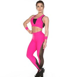 $enCountryForm.capitalKeyWord UK - ISHOWTIENDA Women Print Sports Gym Yoga Running Romantic Printed Fitness Leggings Pants Athletic Contrast Color Mesh Trouser #J4