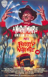 figure nightmare NZ - A NIGHTMARE ON ELM STREET 2 FREDDYS REVENGE Movie wall decor Art Silk Print Poster 87