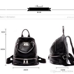 Styles Backpacks Australia - BEST QUALITY European style brand backpack luxury Genuine leather designer multi-pocket package unisex backpacks handbags popular travel bag