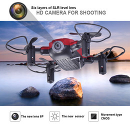 real time mini camera Australia - 720P four-axis RC toy aircraft mini 360 rotation with WIFI camera folding drone quadcopter plain fixed real-time aerial remote control
