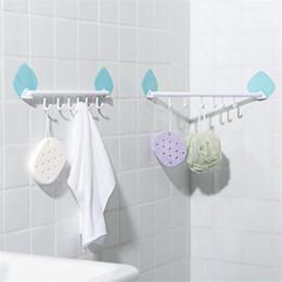 $enCountryForm.capitalKeyWord Australia - Multi-function Hooks Wall Hook Strong Suction Cup Sucker Hanger Kitchen Bathroom Adhesive Towel Shelf