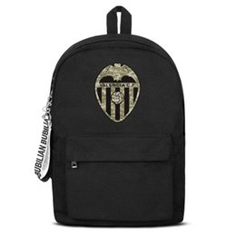 $enCountryForm.capitalKeyWord UK - Valencia CF Los Ches VCF Camouflage Free Shipping Women Men Canvas School Student Backpack Lightweight Travel Backpack Printing Bac