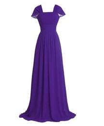 $enCountryForm.capitalKeyWord UK - Summer Beach Elegant Cap Straps Long Bridesmaid Dresses 2019 Cheap Boho Chiffon Floor Length Maid Of Honor Wedding Guest Part Gowns