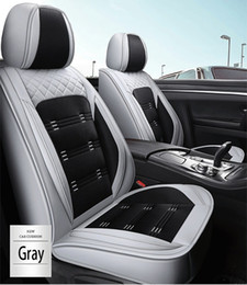 Wholesale Universal Fit Car Interior Accessories Seat Covers For Sedan PU Leather Adjuatable Five Seats Full Surround Design Seat Cover For SUV BM003