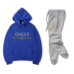 men two pocket suits UK - 2019 NO.2S new brand men women casual sport suit jacket hoodie pants sweatshirt and pant suit hoodie and set sweatsuit trousers