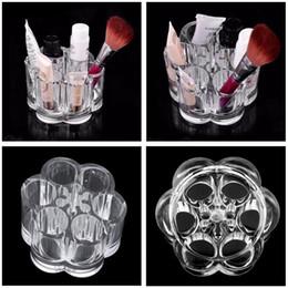 $enCountryForm.capitalKeyWord Australia - Brush Casual Case Pen Cosmetics H Storage 5 D Shape 5inch 3cm Organizer 7x Boxes 9 Transparent Round 3 Makeup 2 Women 6