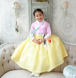 South korean clothing online shopping - South Korea s Latest Imported Fabrics Girl s First Birthday stage Performance Children s Korean Clothing Fashion Belt