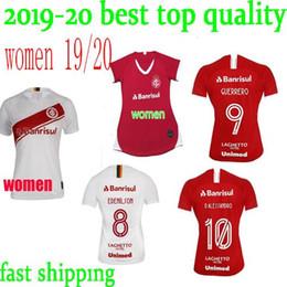 Best Club Jerseys Australia - BEST QUALITY NEW 19 20 Brazil CLUB Internacional soccer jersey RED HOME women 2019 2020 away football shirt N. LOPEZ D.ALESSANDRO POTTKER