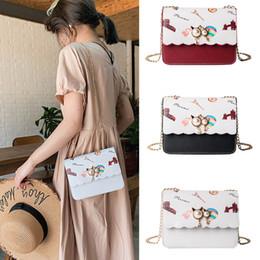 Ladies Cream Handbags NZ - Fashion ladies bag solid Messenger handbags shopping mall square bag colorful Messenger cow pattern shoulder Dropship Y520