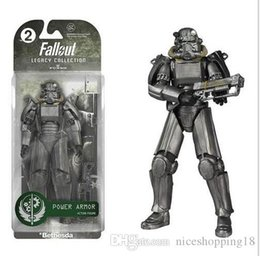 "$enCountryForm.capitalKeyWord Australia - T28 Two Colors Fallout 4 PVC Action Figure 8"" Power Armor Out of Clothing Toys Gifts Collections Displays Brinquedos"