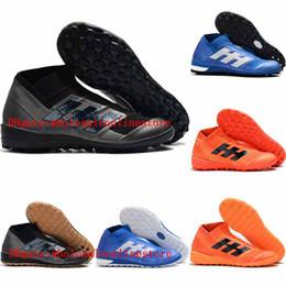 Zapatillas de fútbol para hombre 2019 Nemeziz Tango 18+ TF IC IN botines de fútbol Tango 18 botas de fútbol de interior baratas botas de futbol en venta