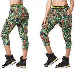 $enCountryForm.capitalKeyWord Australia - FIT FUNKY Womens Knitted cotton trousers sports running capri leggings clothes cargo pants legging capri pants P942