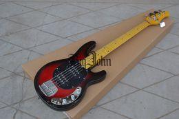 $enCountryForm.capitalKeyWord NZ - free shipping new Big John 5 strings electric bass guitar in sunburst with rosewood fingerboard F-3104