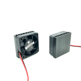 3007 3CM ventilador com dissipador de calor de alumínio 30x12.5MM 12V 5V ventilador silencioso de 30mm mini ventilador de refrigeração venda por atacado