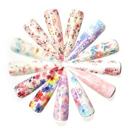 $enCountryForm.capitalKeyWord Australia - 1set Nail Star Paper Mixed Design New Nail Art Stickers Set Fresh Flower Sticker Glitter Flower Water Decal Slider Wraps Decor
