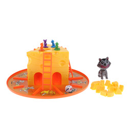 interactive toys for boys Australia - Cat and Mouse Cheese Game Parent-Child Interactive Board Game Toys for Boys and Girls Entertainment