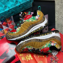 Tianjin Spray Laufschuh Chinese New Year CNY Traditionelle Kultur Willow Jugend Malerei Muster Frauen Männer Patent Mähne Pferd Krokodil-Haut