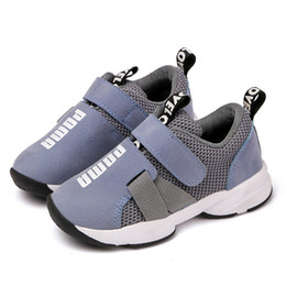 $enCountryForm.capitalKeyWord Australia - 2019 ins new children's sports shoes boys fashion running shoes spring and autumn breathable non-slip mesh face 3 color free shipping