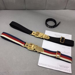 Discount different belts - 2019 New patter Waist Belts High End For Women Men Buckles Fashion Animal Automatic Leather Two different models Recomme