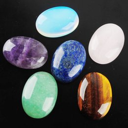 WOJIAER 18x25x7mm Gem Stone Cabochon Natural Loose Beads Men Women Charms Jewelry Gems DBU805 on Sale
