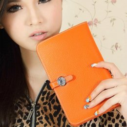 $enCountryForm.capitalKeyWord NZ - 2016 New Brand Luxury Wallet Women's Handbag Bag Passport Holder Women's Genuine Leather Cell Phone Wallet Purse-Free Shipping
