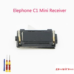 $enCountryForm.capitalKeyWord NZ - BingYeNing New Original For Elephone C1 Mini receiver earpiece speaker replacement accessories used+working
