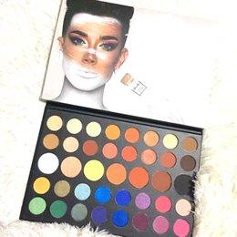 Mais novo 2019 Paleta de Maquiagem 39 cores Paleta Da Sombra de Olho Natural de Longa Duração Cosméticos Beleza DHL grátis