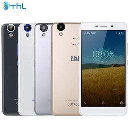 Phablet Gps Quad Australia - THL T9 Pro Android 6.0 5.5 inch 4G Phablet MTK6737 Quad Core 1.3GHz 2GB RAM 16GB ROM Fingerprint Scanner Bluetooth 4.0 GPS