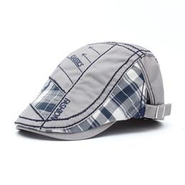 Beach Visors For Women UK - Custom Visor cap for women Factory wholesale Adjustable Fashion ivy cap beret caps Outdoor sun hats