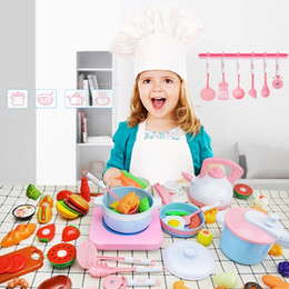 $enCountryForm.capitalKeyWord Australia - LeadingStar Children Simulated Induction Cooker Kitchen Pretend Play Simulation Hamburger Kitchenware Cooking Set for Kids SH190907