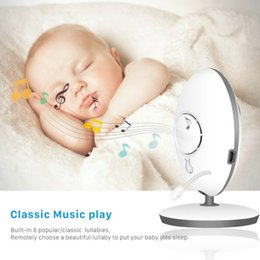 surveilance cameras NZ - Wireless LCD Audio Video Baby Sleeping Monitors VB605 Remote Security Home Surveilance Music Intercom IR24h Portable Baby Camera
