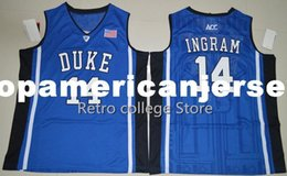 $enCountryForm.capitalKeyWord Australia - Brandon Ingram 14 Duke Blue Devils Retro College Top Basketball Jersey Chino Hills Huskies High School Shirts For Men Emb XS-6XL vest Jersey
