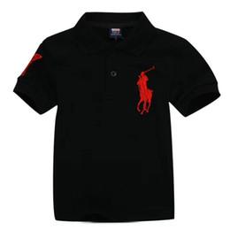 Nuevo 2019 camisetas para niños al por mayor niño niña ocio manga corta polo niños camiseta niños camisetas 13 colores Envío gratis